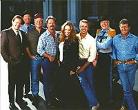 Dukes Go Hollywood Cast Photo (8x10)