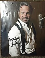 Autographed Tom Wopat Photo (8x10) Mic