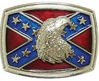 Bald Eagle Confederate Belt Buckle