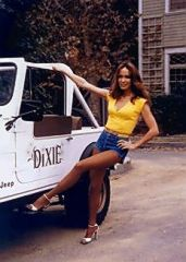 Daisy With Jeep Photo (8x10)