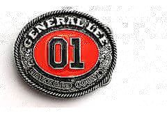 01 General Lee Belt Buckle