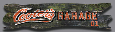 Cooter's Garage Wooden Street Sign (5 X 24)