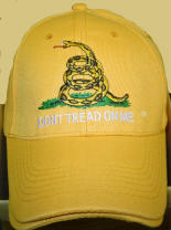 Don't Tread On Me Hat Yellow