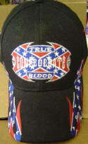 True Confederate Blood Hat Balck