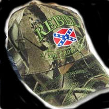 Rebel & Proud Of It Hat Camo