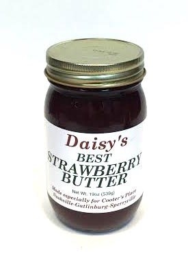 Sauces Daisy's Strawberry Butter