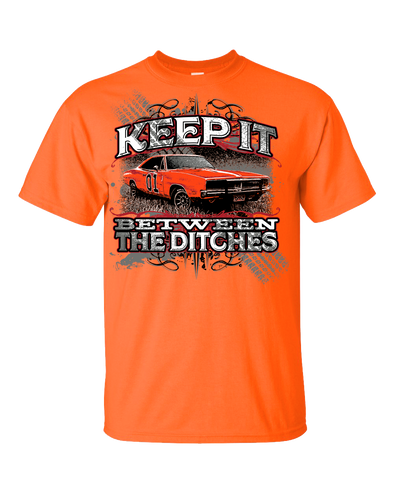 Youth Cooter's Keep it Between the Ditches T-Shirt