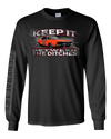 Cooter's Keep it Between the Ditches Long Sleeve T-Shirt