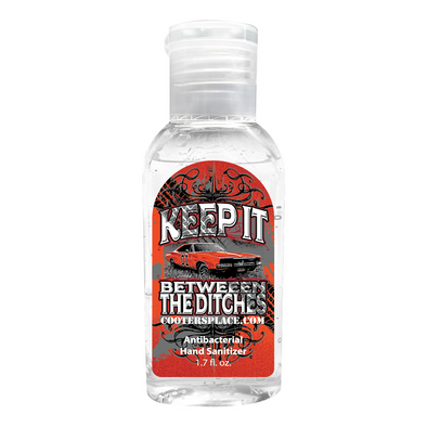 Keep it Between the Ditches Hand Sanitizer (1.7oz) Made in 🇺🇸