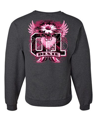 Cooter's Dixie Tattoo Crewneck Sweatshirt