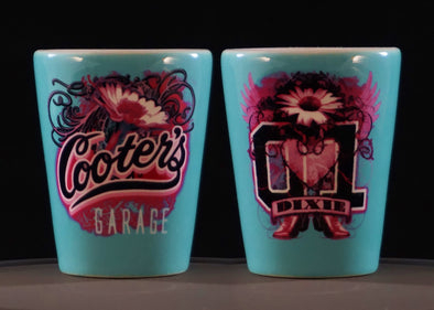 Cooter's Dixie Tattoo Shot Glass