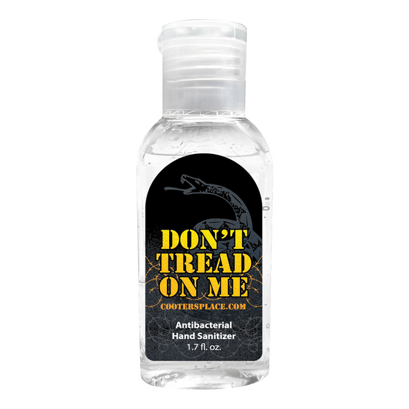 Don't Tread On Me Hand Sanitizer (1.7oz) Made in 🇺🇸