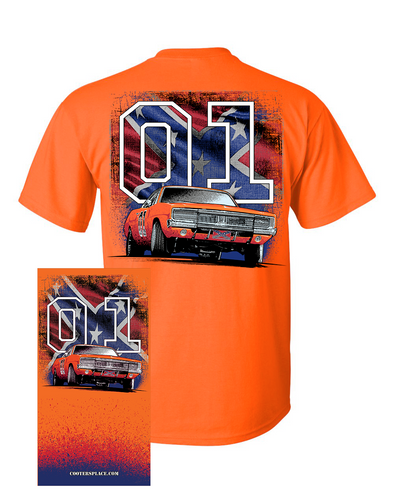 Gaiter & Tee COMBO General Lee W/ Flag 01