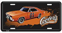 Cooter's with General Lee License Plate