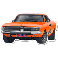 Sticker Die Cut General Lee