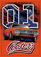 Magnet General Lee With Confederate Flag