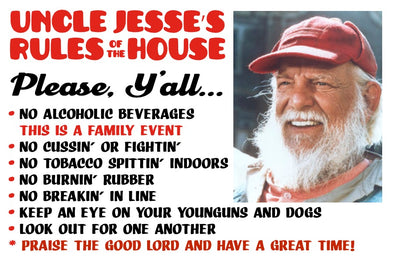 Magnet Uncle Jesse Rules Of The House