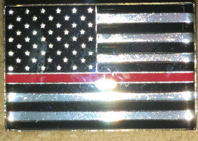 Thin Red Line Hat Pin