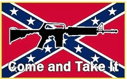 M4 Come Take It- 3'X5' Rebel Flag Polyester