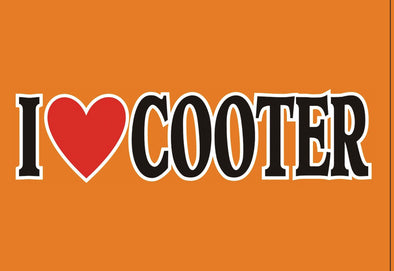 Magnet I Heart Cooter's