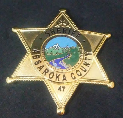 Longmire Sheriff Absaroka County, Wy Tv Show Replica Prop #47 Badge