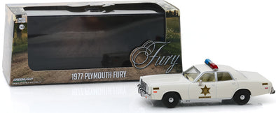 1:43 Scale Hazzard County Sheriff Car - 1977 Plymouth Fury