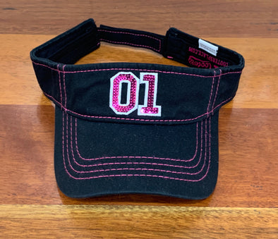 Cooter's 01 Visor W/Sequins