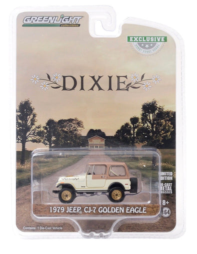"1:64 Scale 1979 Jeep CJ-7 Golden Eagle ""Dixie"""