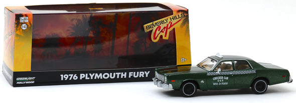 1:43 Beverly Hills Cop (1984) - 1976 Plymouth Fury Checker Cab