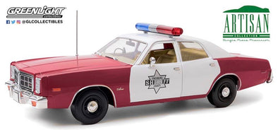 "OCTOBER 2020 PRE-ORDERS 1:18 Artisan Collection - 1977 Dodge Monaco ""Finchburg County Sheriff"""