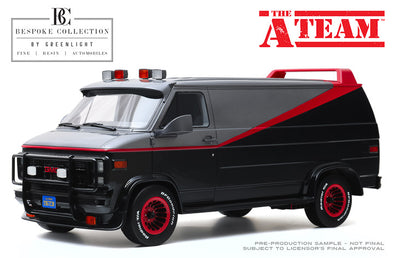 PRE-ORDERS ONLY 1:12 Bespoke Collection - 1:12 The A-Team (1983-87 TV Series) - 1983 GMC Vandura