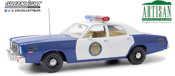 "OCTOBER 2020 PRE-ORDERS 1:18 Artisan Collection - 1975 Plymouth Fury ""Osage County Sheriff"""