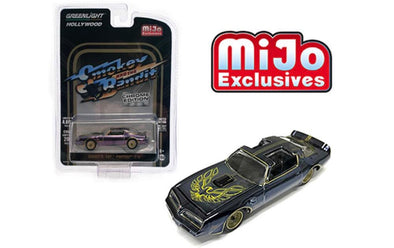 1:64 Hollywood - Smokey and the Bandit (Chrome Edition) - Bandit's 1977 Pontiac T/A (Black Chrome)
