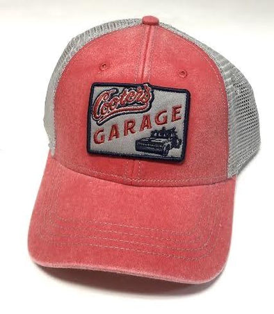 Cooter's Garage Tow Truck Patch Trucker Hat