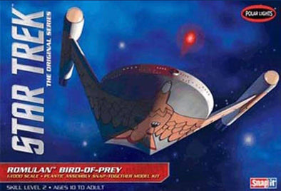 1:1000 Star Trek Romulan Bird of Prey (Snap Model Kit)