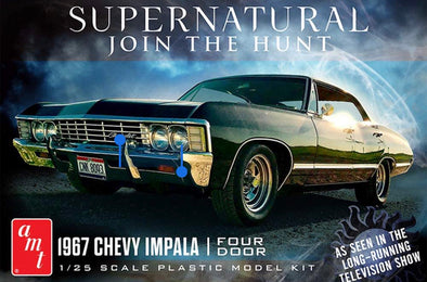 OCTOBER PRE-ORDER ONLY Supernatural 1967 Chevy Impala (Model Kit)