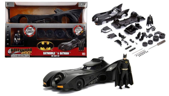1:24 Build 'N Collect - 1989 Batman Batmobile w/Batman Figure