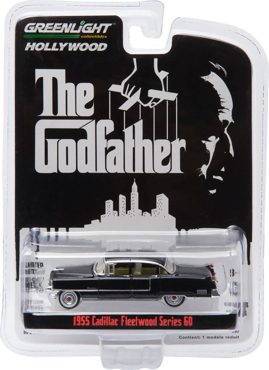 1:64 The Godfather (1972) - 1955 Cadillac Fleetwood Series 60 Special Solid Pack