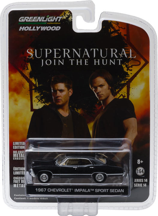 1:64 Supernatural (2005-Current TV Series) - 1967 Chevrolet Impala Sedan Solid Pack