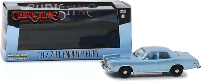 1:43 Christine (1983) - Detective Rudolph Junkins' 1977 Plymouth Fury