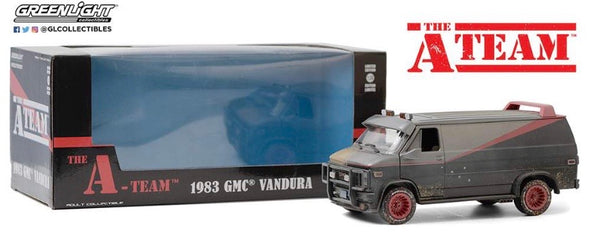 1:24 The A-Team (1983-87 TV Series) - 1983 GMC Vandura (Weathered Version w/Bullet Holes)