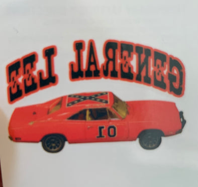 Temp Tattoo General Lee