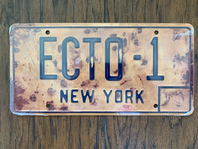 Rustic Ecto 1 License Plate