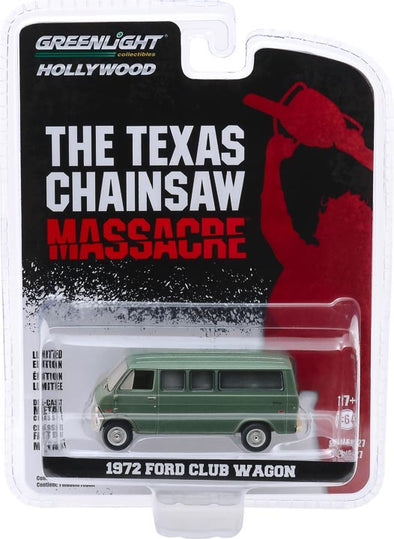 1:64 Hollywood Series 27 - The Texas Chain Saw Massacre (1974) - 1972 Ford Club Wagon Solid Pack