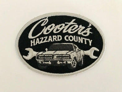 Cooter's Hazzard County General Lee Patch (Oval)