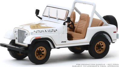 "APRIL 2020 PRE-ORDERS ONLY 1:18 Scale 1979 Jeep CJ-7 Golden Eagle ""Dixie"""