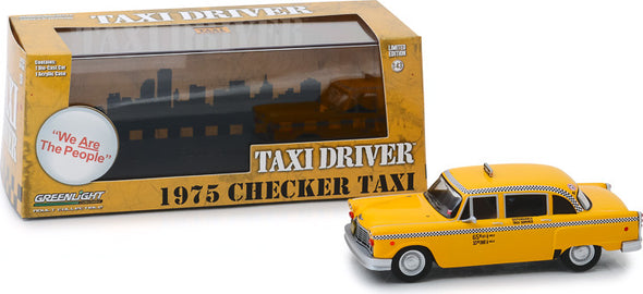 1:43 Taxi Driver (1976) - Travis Bickle's 1975 Checker Taxicab