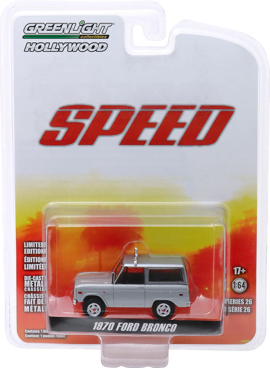 1:64 Hollywood Series 26 - Speed (1994) - Jack Traven's 1970 Ford Bronco