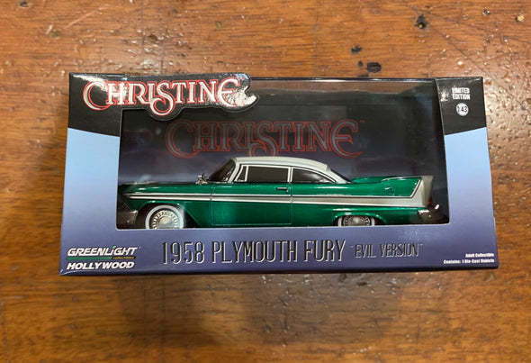 GREENIE 1:43 Christine (1983) - 1958 Plymouth Fury (Evil Version)