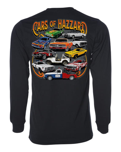 Cooter's Cars of Hazzard Long Sleeve T-Shirt